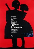 plakat - Opowieść lat płomiennych (1960)