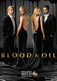 Blood & Oil (2015) plakat