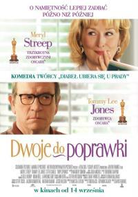 Dwoje do poprawki (2012) plakat