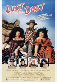 Żądza na pustyni (1985) plakat