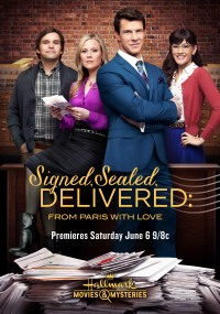 Signed, Sealed, Delivered: From Paris with Love (2015) plakat