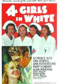 Four Girls in White (1939) plakat