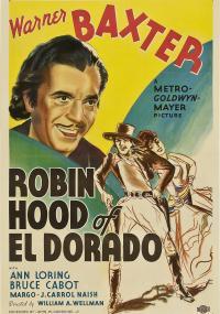 The Robin Hood of El Dorado (1936) plakat