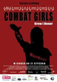Combat girls. Krew i honor (2011) plakat
