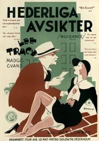 The Nuisance (1933) plakat