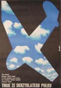 Troje ze skrzydlatego pułku (1974) plakat