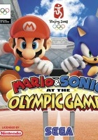 Mario & Sonic at the Olympic Games (2007) plakat