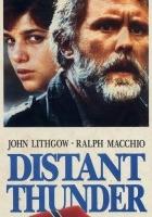 plakat - Burza w oddali (1988)