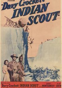 Davy Crockett, Indian Scout (1950) plakat