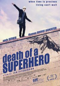 Śmierć superbohatera (2011) plakat