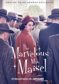 Wspaniała pani Maisel (2017) plakat