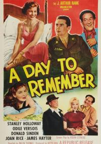 A Day to Remember (1953) plakat