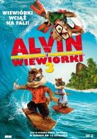 plakat - Alvin i wiewiórki 3 (2011)