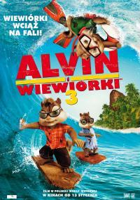 Alvin i wiewiórki 3 (2011) plakat