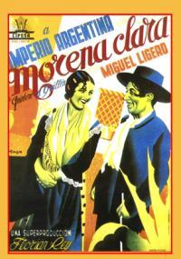 Morena Clara (1936) plakat