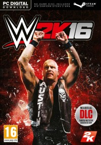 WWE 2K16 (2015) plakat