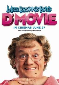 Mrs. Brown's Boys D'Movie (2014) plakat