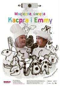 Magiczne święta Kacpra i Emmy (2014) plakat