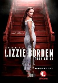 Lizzie Borden chwyta za siekierę (2014) plakat
