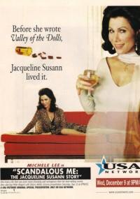 Skandalistka Jacqueline Susann (1998) plakat