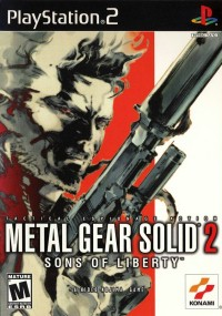 Metal Gear Solid 2: Sons of Liberty (2001) plakat