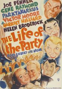 The Life of the Party (1937) plakat