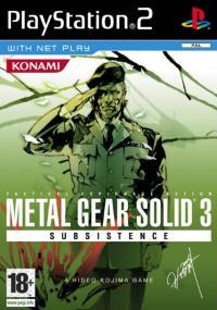 Metal Gear Solid 3: Subsistence (2005) plakat