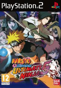Naruto Shippuden: Ultimate Ninja 5 (2007) plakat