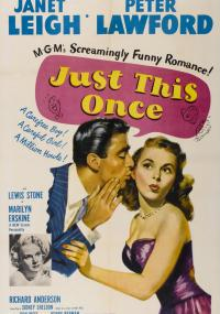 Just This Once (1952) plakat