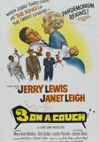 Three on a Couch (1966) plakat