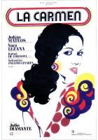 plakat - La Carmen (1976)