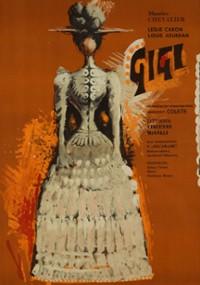 Gigi (1958) plakat