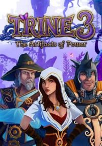 Trine 3: The Artifacts of Power (2015) plakat