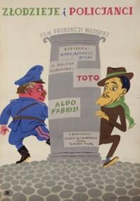 Złodzieje i policjanci (1951) plakat