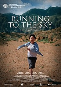 Biegnąc w stronę nieba (2019) plakat