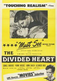 The Divided Heart (1954) plakat