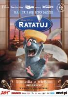 plakat - Ratatuj (2007)