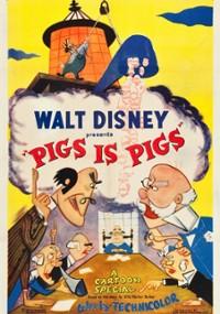 Czy świnki to świnie (1954) plakat