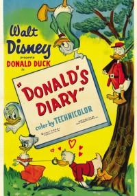 Pamiętnik Donalda (1954) plakat