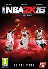 NBA 2K16 (2015) plakat