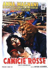 Czerwone koszule (1952) plakat