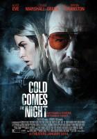 plakat - Chłód nadchodzi nocą (2013)
