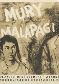 Mury Malapagi (1949) plakat