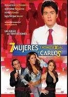 plakat - 7 mujeres, un homosexual y Carlos (2004)