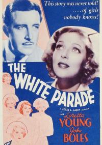 Biały pochód (1934) plakat