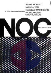Noc (1961) plakat