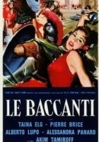 Bachantki (1961) plakat