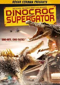 Dinokrokodyl kontra supergator (2010) plakat