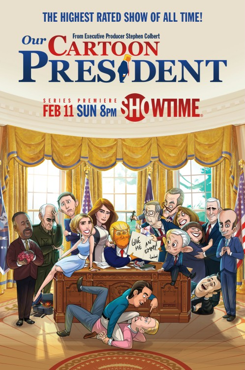 Prezydent z kreskówki / Our Cartoon President (2020) {Sezon 3} PL.S03.1080p.HBO.WEB-DL.x264-J / Lektor PL