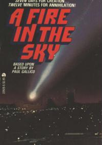 A Fire in the Sky (1978) plakat